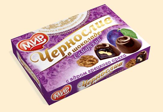 Чернослив в шоколаде, 150г