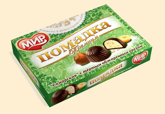 Помадка «Премиум с орехом»